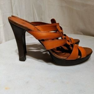 Hugo Boss Shoes - Hugo Boss strappy leather pumps